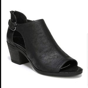 Carlos Della Distressed Suede/leather bootie 6.5